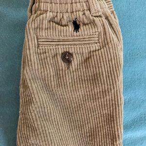 Ralph Lauren Bottoms - Boys Ralph Lauren Cords 18 months